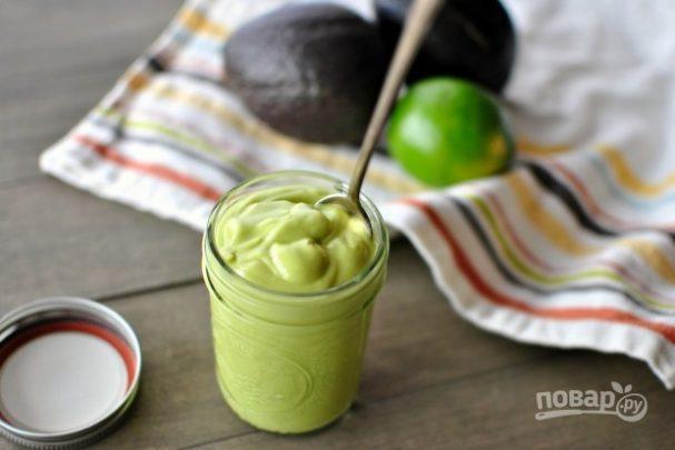 Заправка для салатов из авокадо