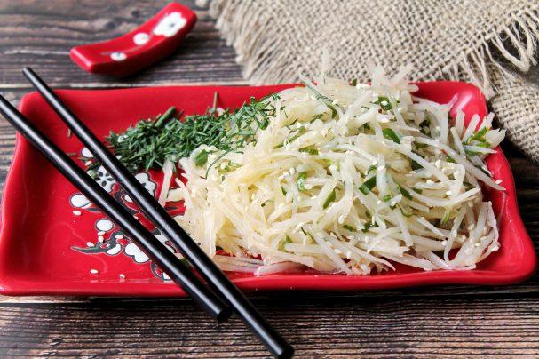 Китайский картофельный салат