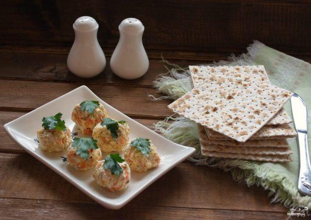 Еврейская закуска из сыра