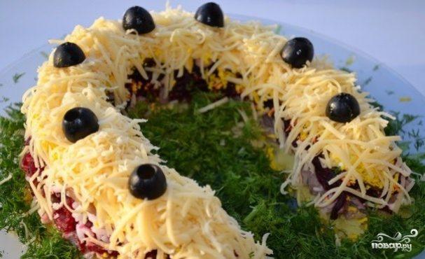 Салат подкова рецепт с фото изоражения