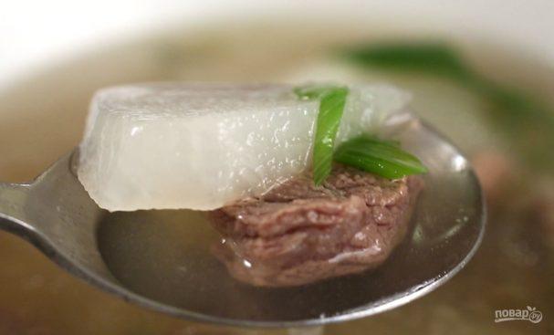 Суп на говядине