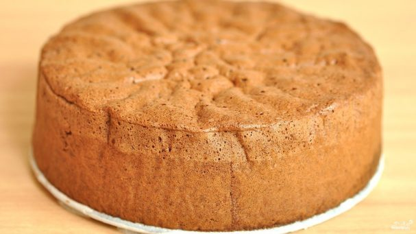 Бисквит в мультиварке - рецепт с фото на