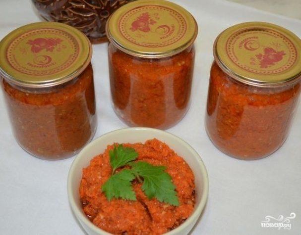 Икра из моркови на зиму