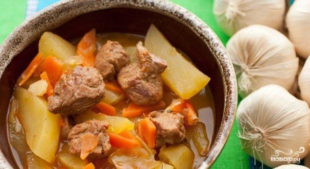 Рагу из свинины с картошкой