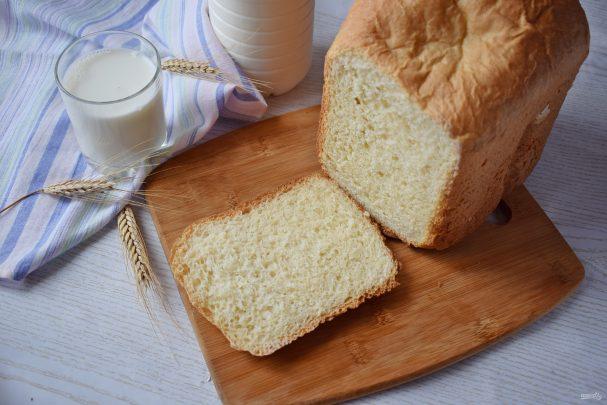 Хлеб на живых дрожжах в хлебопечке
