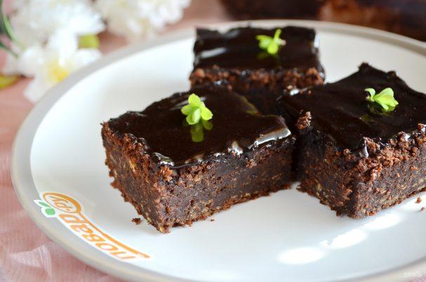 """Постный десерт """"Брауни с чечевицей"""""""
