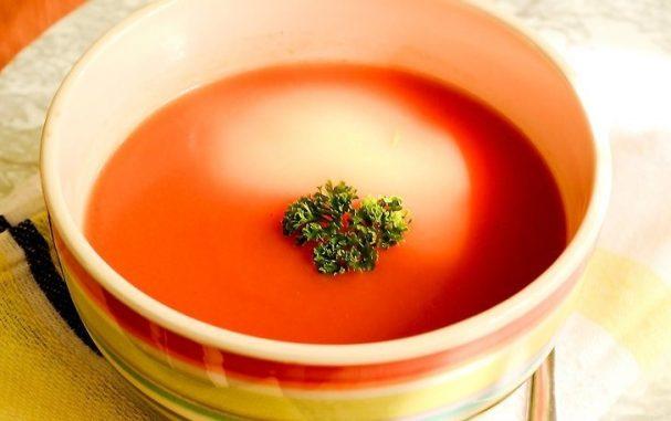 Зимний суп из помидоров