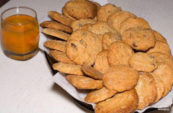 Мягкое овсяное печенье