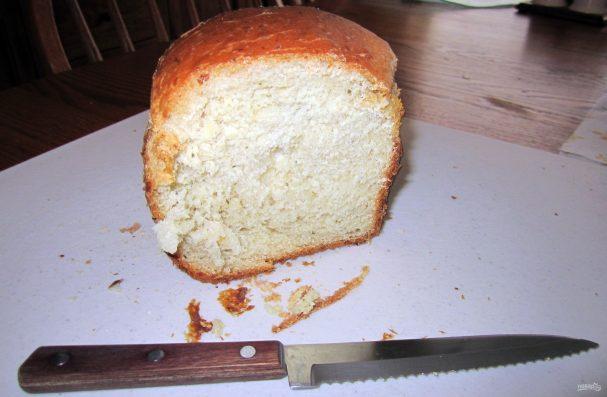 Рецепт сырного хлеба для хлебопечки