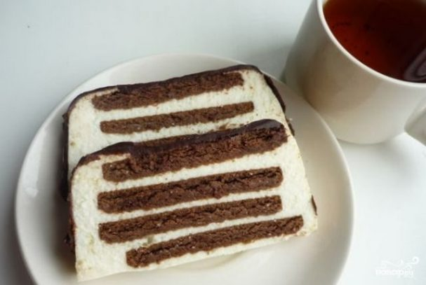 Торт скорый без выпечки