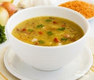 Суп овощной традиционный