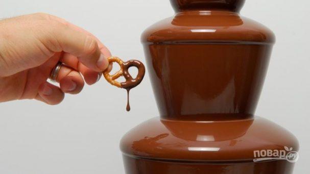 Рецепт шоколада для шоколадного фонтана