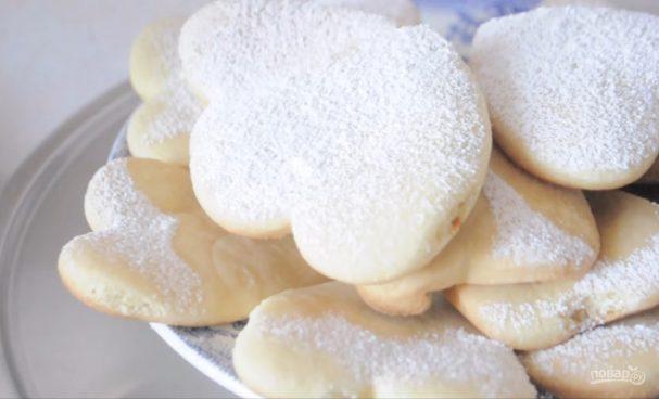Молочные печенюшки (коржики) за 20 минут
