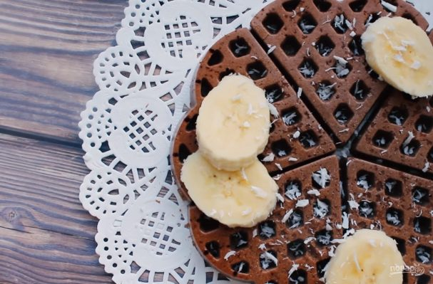 ПП вафли в духовке - пошаговый рецепт с фото на Повар.ру 8849bca9956