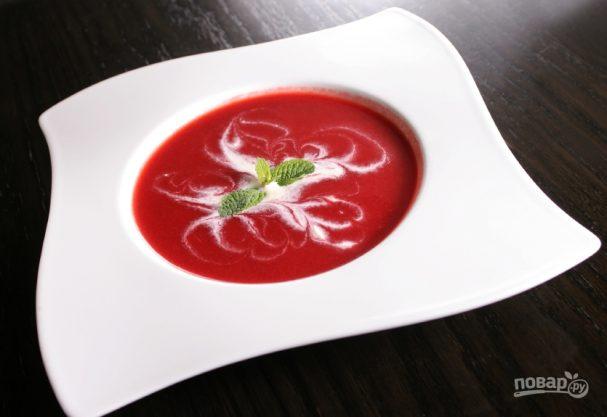 Сладкие супы