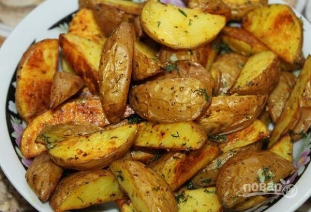 Деревенская картошка