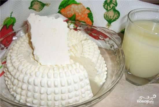 Домашний сыр на пепсине