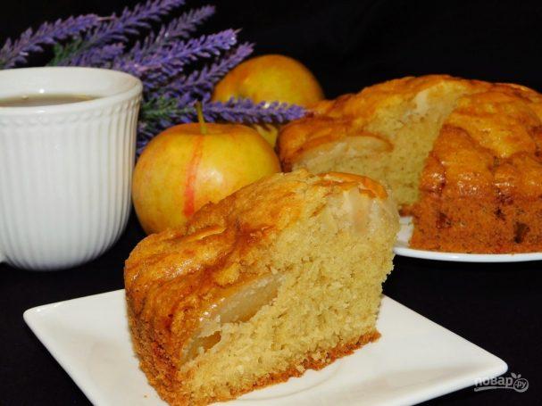Венский пирог с яблоками