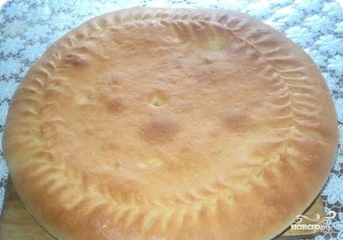 Пирог с урюком
