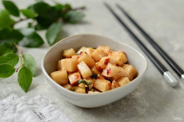 Кимчи из дайкона