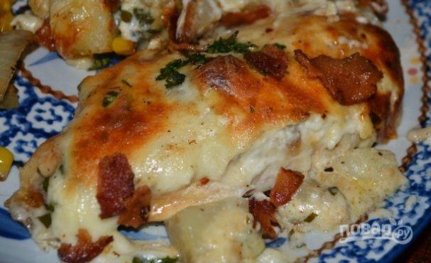Куриная грудка с картофелем