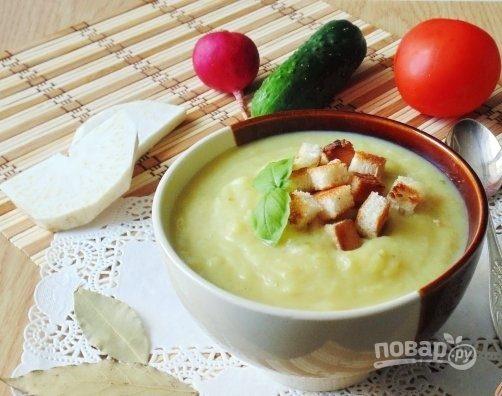 Суп из пекинской капусты