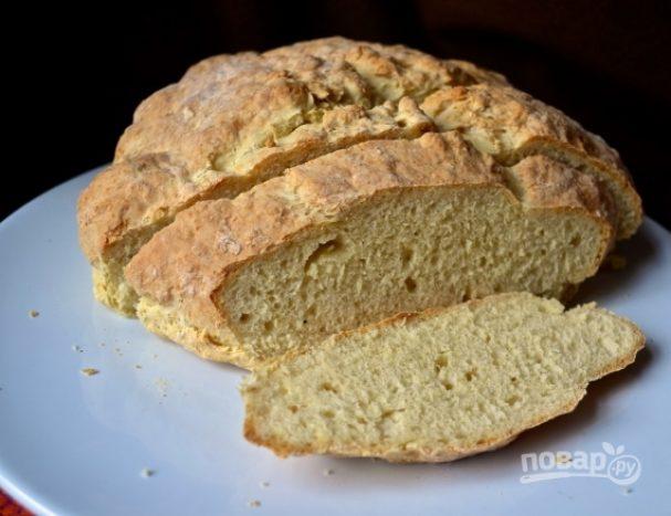 Бездрожжевой хлеб без закваски