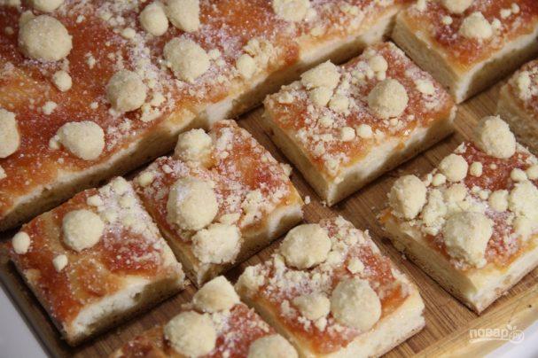 Ривелькухен - сладкий пирог с посыпушкой