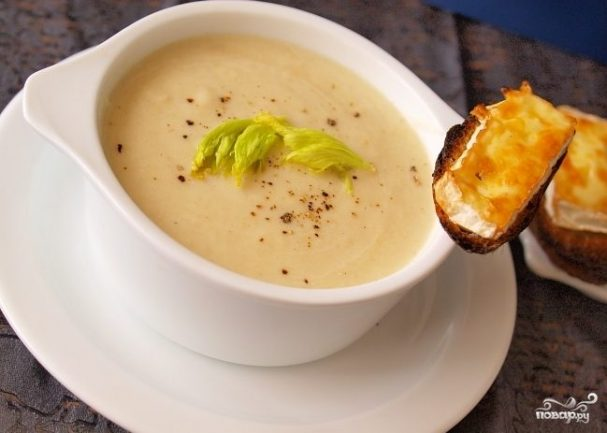Крем-суп из индейки для ребенка