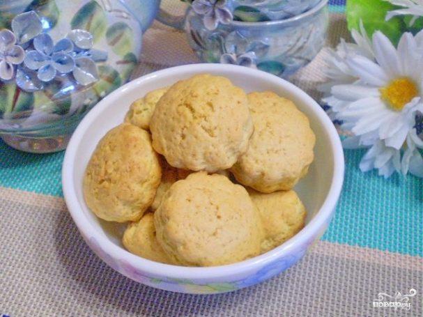 Простое печенье на маргарине