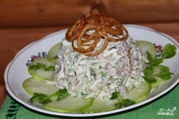 Салат из сузьмы
