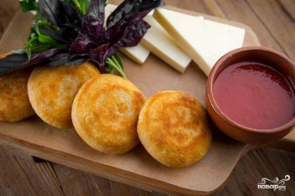 Мчади с сыром сулугуни