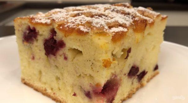 Пирог на фанте (очень высокий)