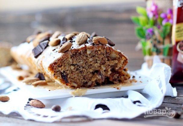 Кофейно-ореховый кекс