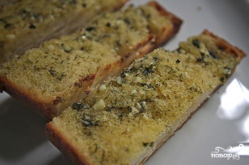 Чесночный хлеб