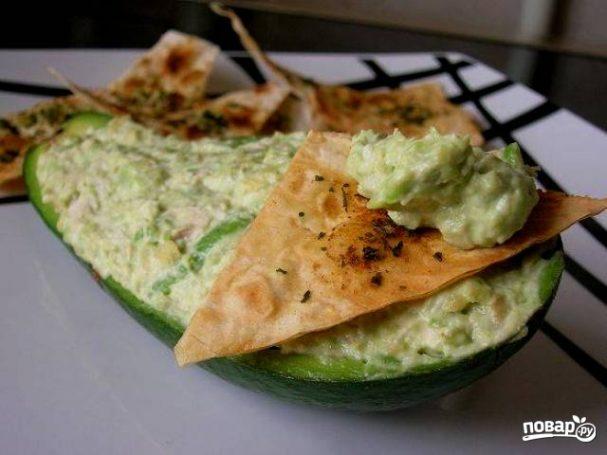 Паста из авокадо