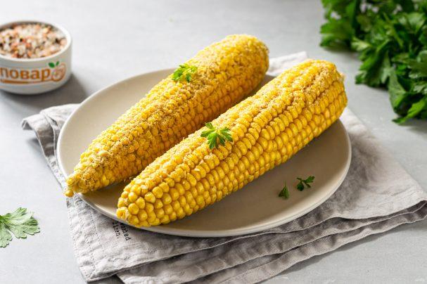 Кукуруза в духовке