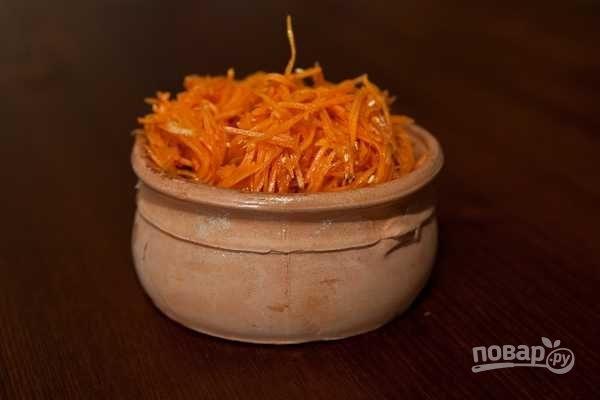 Морковный салат по-корейски