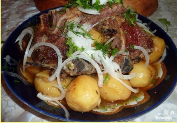 Говяжьи ребрышки с картошкой: рецепты приготовления - Это ... | 423x607