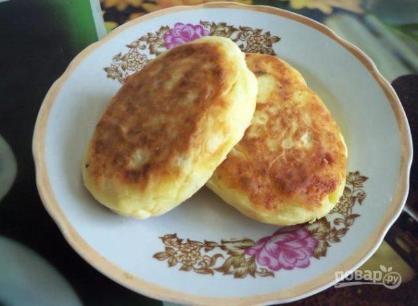 рецепты картофельных пирожков с начинкой
