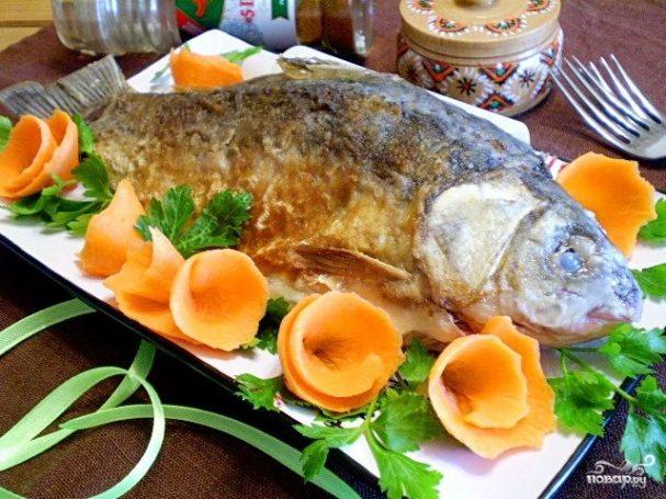 Жареная рыба в молоке