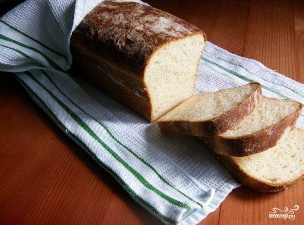Хлеб на ряженке в духовке