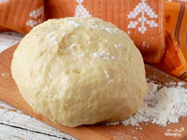 Постное песочное тесто