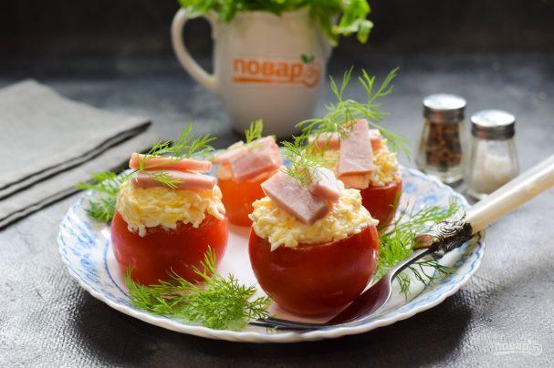 Фаршированные помидоры по-французски