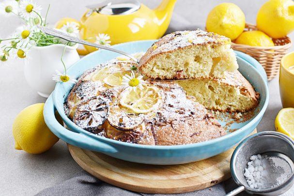 Пирог с лимонной цедрой