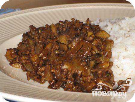 Фарш из грибов, каштанов и колбасы - рецепт с фото на