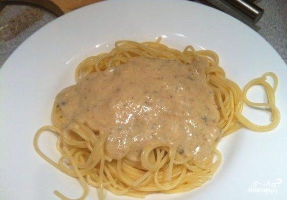 """Спагетти с сыром """"Дор блю"""""""