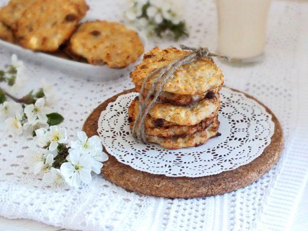 Творожное печенье без муки