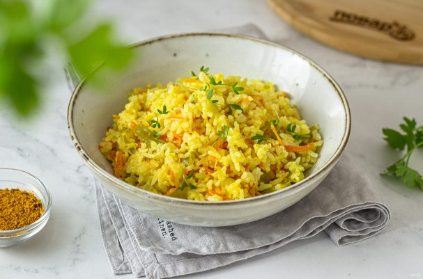 Рис карри в мультиварке