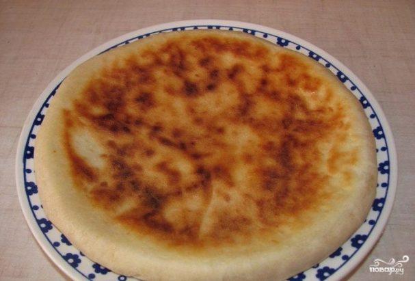 Хачапури на кефире на сковороде